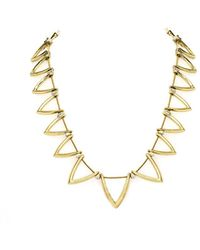 House Of Harlow Triknoa Necklace - Lyst