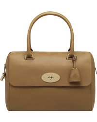 Mulberry Del Rey Glossy Goat Leather Tote - Lyst