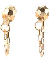RebekkaRebekka | Diamond Chain Earrings | Lyst
