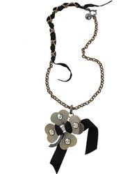 Lanvin - Crystal Embellished Star Pendant Necklace - Lyst