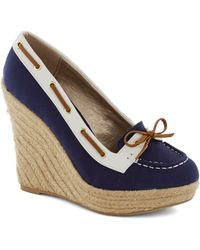 ModCloth | Just What I Yacht Wedge | Lyst