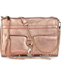 Rebecca Minkoff Mac Leather Clutch Bag - Lyst