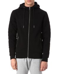 Blood Brother Power Quilted Hoody - Black