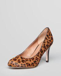 Corso Como - Court Shoes Del Leopard Calf Hair High Heel - Lyst