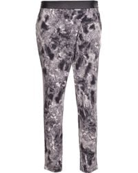 Cut25 by Yigal Azrouël Foldover Jersey Pant - Multicolor