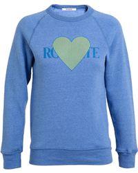 Rodarte 3D Heart Motif Sweater - Lyst