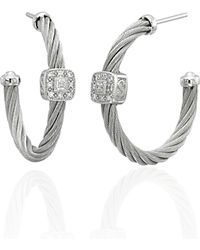 Charriol Classique Hoop Earrings - Metallic