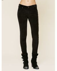 Free People Cord Skinny Jeans - Lyst