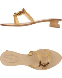 Don Ciccillo Sandals - Lyst