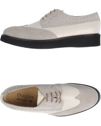 Doucal's Laced Shoes - Lyst