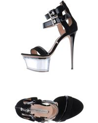 Gianmarco Lorenzi Sandals - Black