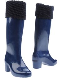 Melissa High-heeled Boots - Blue