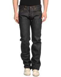 Momotaro Jeans By Japan Blue Denim Trousers - Lyst