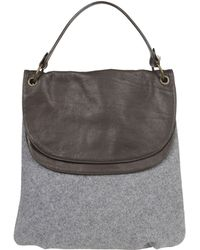 Peserico Shoulder Bag - Gray