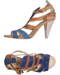 Vicini Tapeet Sandals - Blue