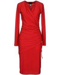 Class Roberto Cavalli Kneelength Dress - Red