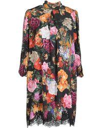 Dolce & Gabbana - Photo Print Silk Shift Dress - Lyst