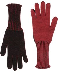 Jil Sander Navy Gloves - Purple