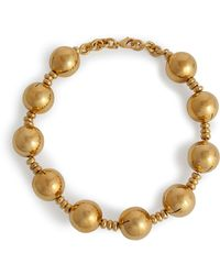 Moschino - Bauble Necklace in Gold - Lyst