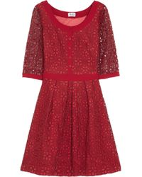 Alice By Temperley Mitsu Embroidered Organza Dress