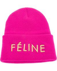 Brian Lichtenberg Branded Beanie Hat - Pink