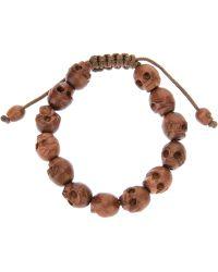 Chan Luu - Skull Beaded Bracelet - Lyst