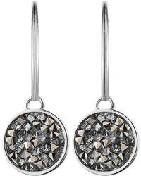 Dyrberg Kern Janessa Shiny Silver Grey Earrings - Lyst