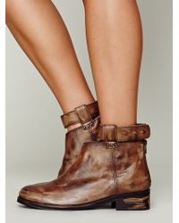 Free People Bandit Ankle Boot - Brown