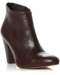 Pied A Terre Saurin Almond Toe Heeled Ankle Boot - Lyst