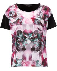 Therapy Jewel Sublimation Front Tee - Lyst