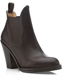 Acne Studios Star Leather Boot - Lyst