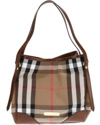 Burberry London Canterbury Tote - Lyst