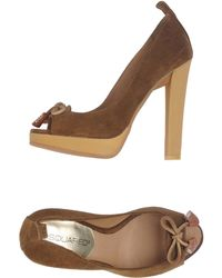 DSquared² Courts With Open Toe - Brown