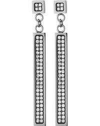 Dyrberg Kern Feniks Shiny Silver Earrings - Lyst