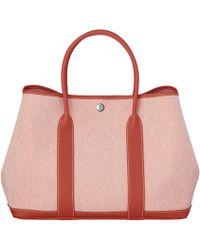Hermès Garden Party red - Lyst