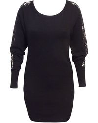 Jane Norman Lace Sleeve Batwing Tunic - Lyst