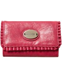 Kenneth Cole Reaction - Ruffled Up Phone Purse - Lyst