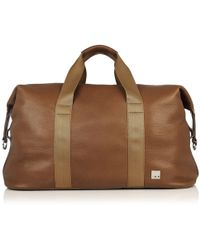 Knomo - Wallace Carryall Duffle Bag in Tabac - Lyst