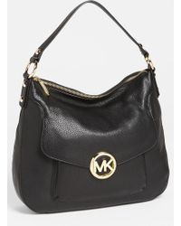 MICHAEL Michael Kors Fulton Large Shoulder Bag - Lyst