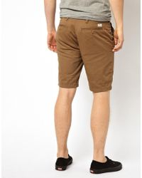 Ben Sherman Pepe Chino Shorts - Brown