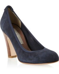 Pied a Terre | Abha Round Toe Elasticated Court Shoes | Lyst