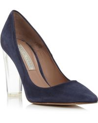Pied a Terre | Adona Pointed Heel Perspex Court Shoes | Lyst