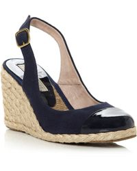 Pied a Terre | Chay Toe Cap Espadrille Wedge Shoes | Lyst