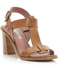 Pied a Terre | Jaren Tbar Block Heel Sandals | Lyst