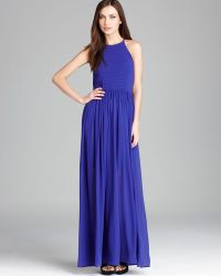French Connection Dress Spell On You Maxi - Blue