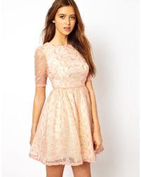 Jarlo Skater Dress - Pink