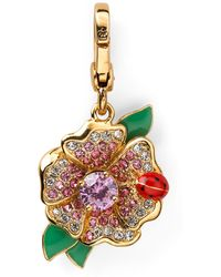 Juicy Couture - Flower with Ladybug Charm - Lyst
