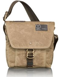 T-Tech By Tumi - Tumi T-Tech Icon Lewis Small Flap Crossbody - Lyst