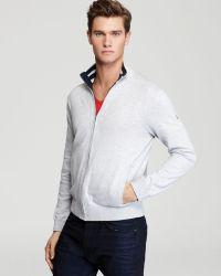 Victorinox - Flagship Zip Front Sweatshirt - Lyst