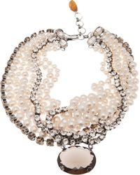 Iradj Moini - Citrine Quartz Pearl Necklace - Lyst